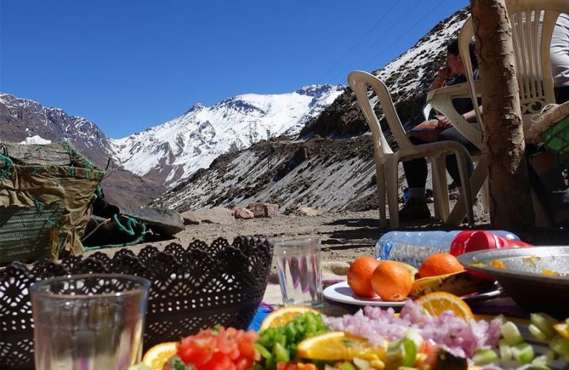 Trekking in the High Atlas, Morocco