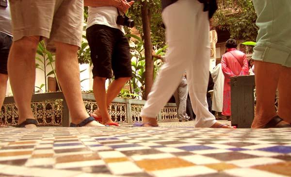 Bahia Palace Tourists