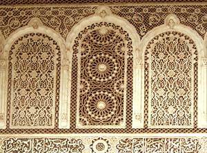 Bahia Palace stuccoworks