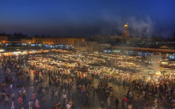 Jamaa el Fna Marrakech by NeverHouse