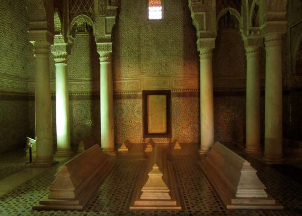 Saadian Tombs Marrakech Morocco