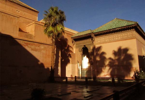 Saadian tombs Marrakech