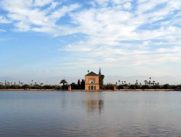 jardin menara marrakesh