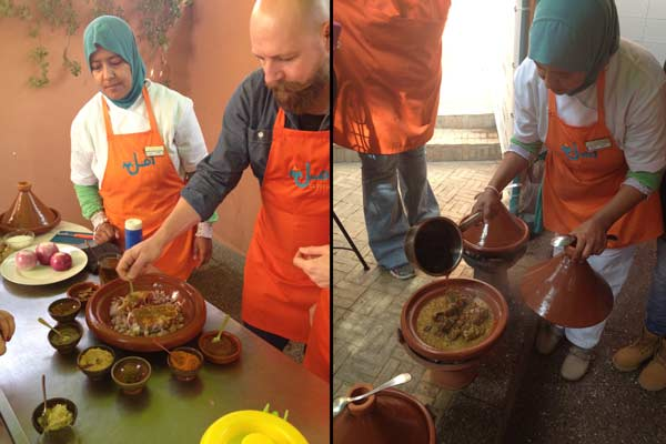 cooking course amal women trainingscenter