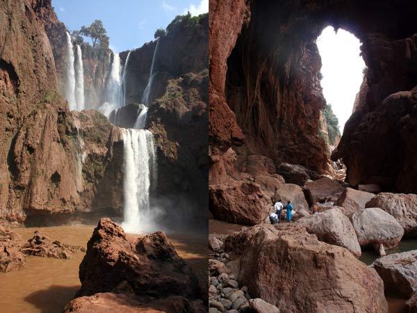 excursion ouzoud Imi-n-Ifri morocco