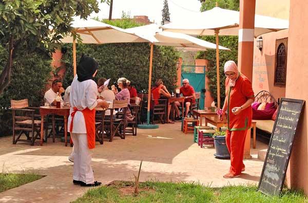 restaurant amal women marrakech