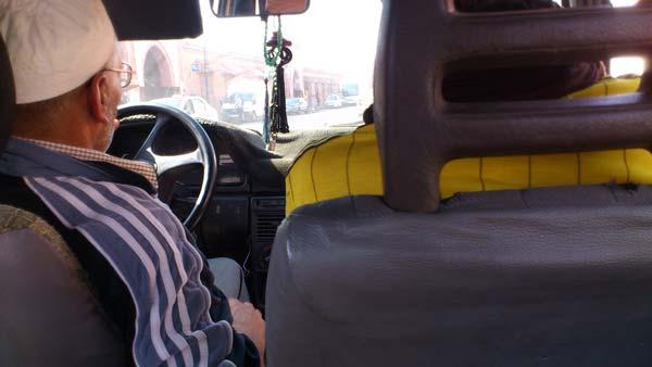 In a Taxi Marrakech