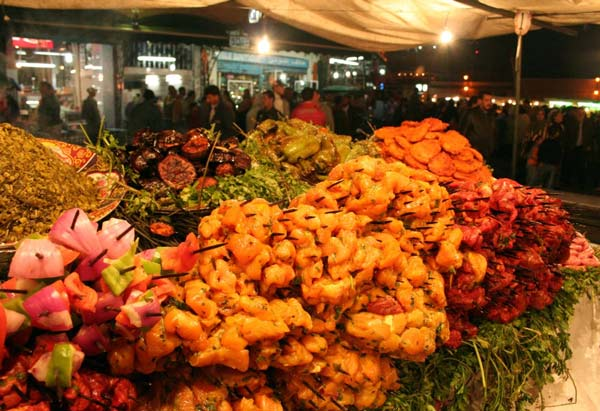 streetfood backpackers jamaa el fna marrakech