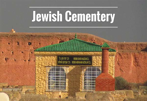 The jewish cemetery in Marrakech