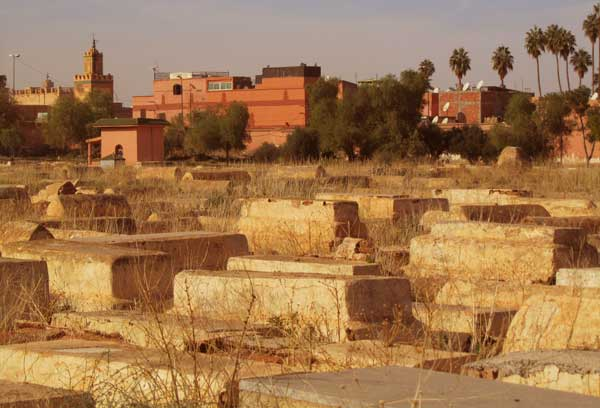 Jewish cemetery Marrakech (Morocco)