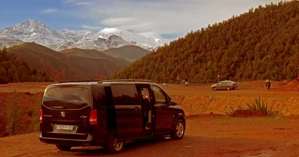 Travel Agency Minivan in Morocco