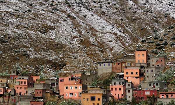 Setti Fatma in the Atlas Mountains in Morocco