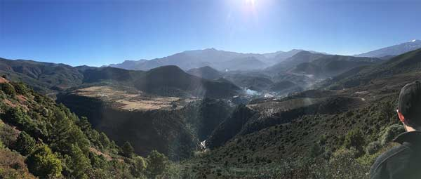 Getting over the High Atlas on the way to the Sahara