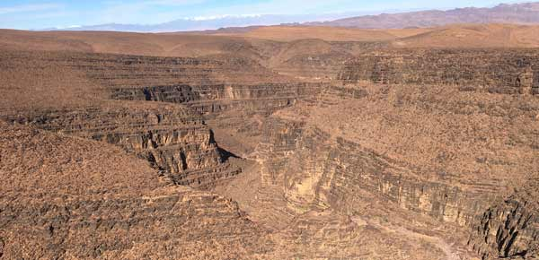 The Anti Atlas Mountains in Morocco