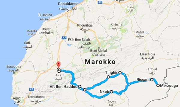 Sahara desert tour itinerary