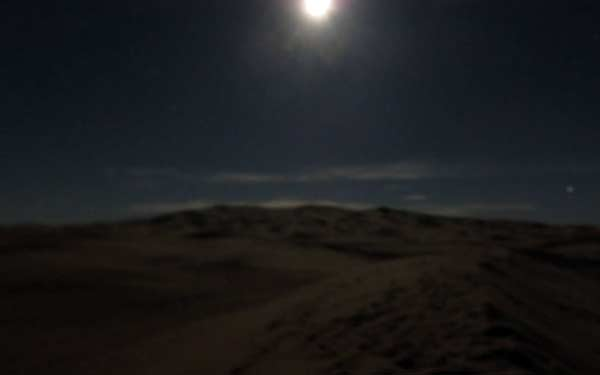 a night in the desert