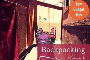 Low-Budget-Tips: Marrakech for Backpackers