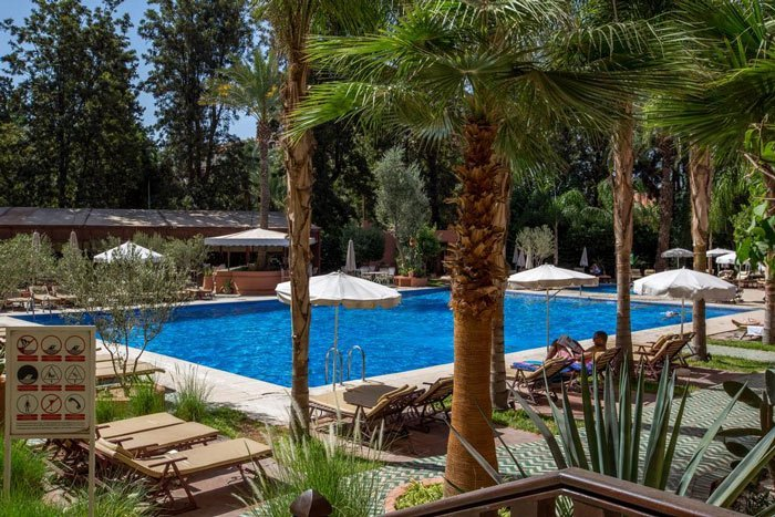 Hotel in Marrakech with pool