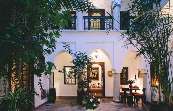 Riad in Marrakech: Hotel Dar Zaman