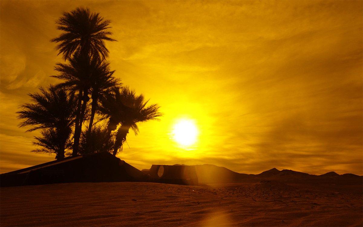 Dunes near to the Sahara