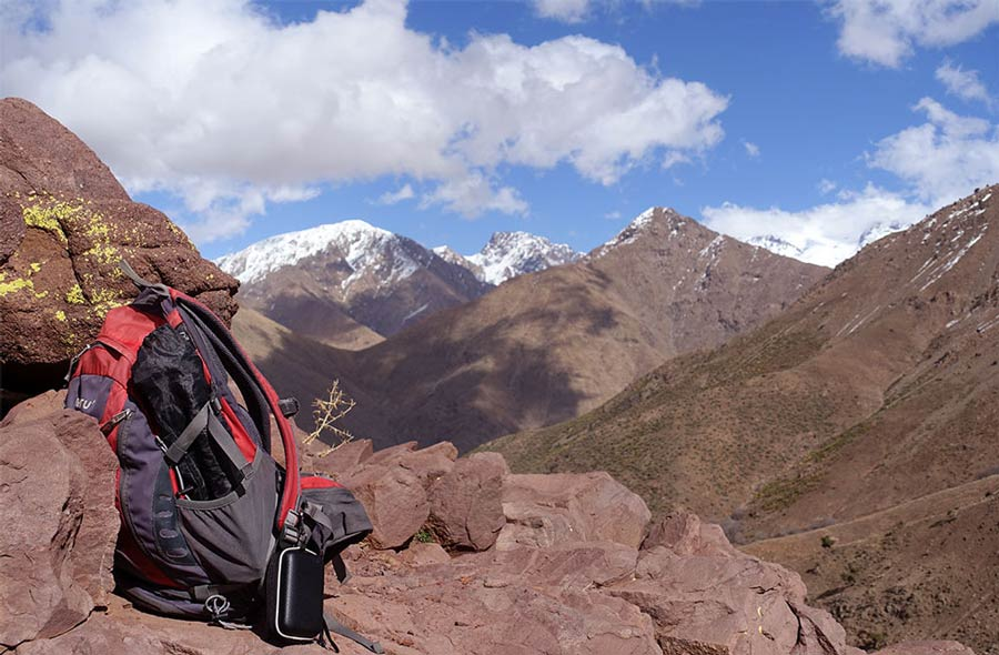 Trekking in the Toubkal National Park, Morocco