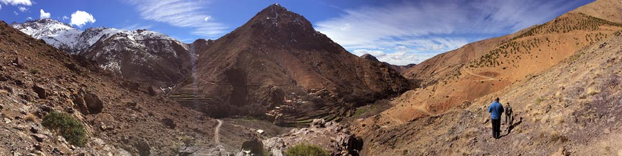 Trekking tour in the High Atlas Mountains, Morocco