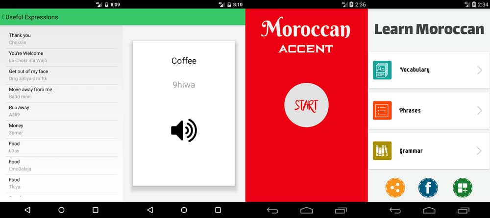 french english morocco apps