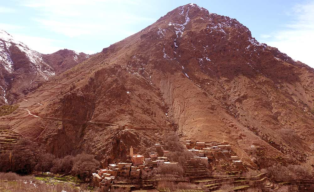 Moroccan language High Atlas