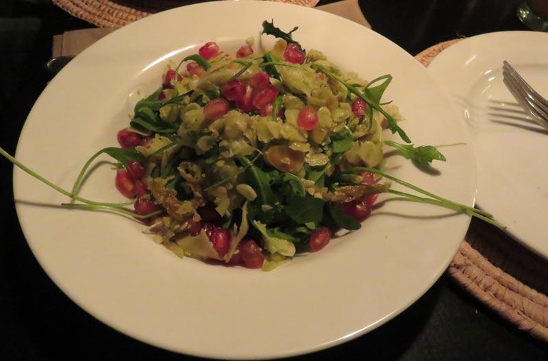 Vegetarian Salad Nomad Restaurant Marrakech