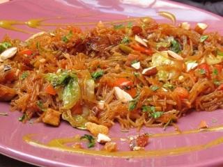 Earth Café Marrakech noodles