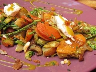 Earth Café Marrakech vegetarian food