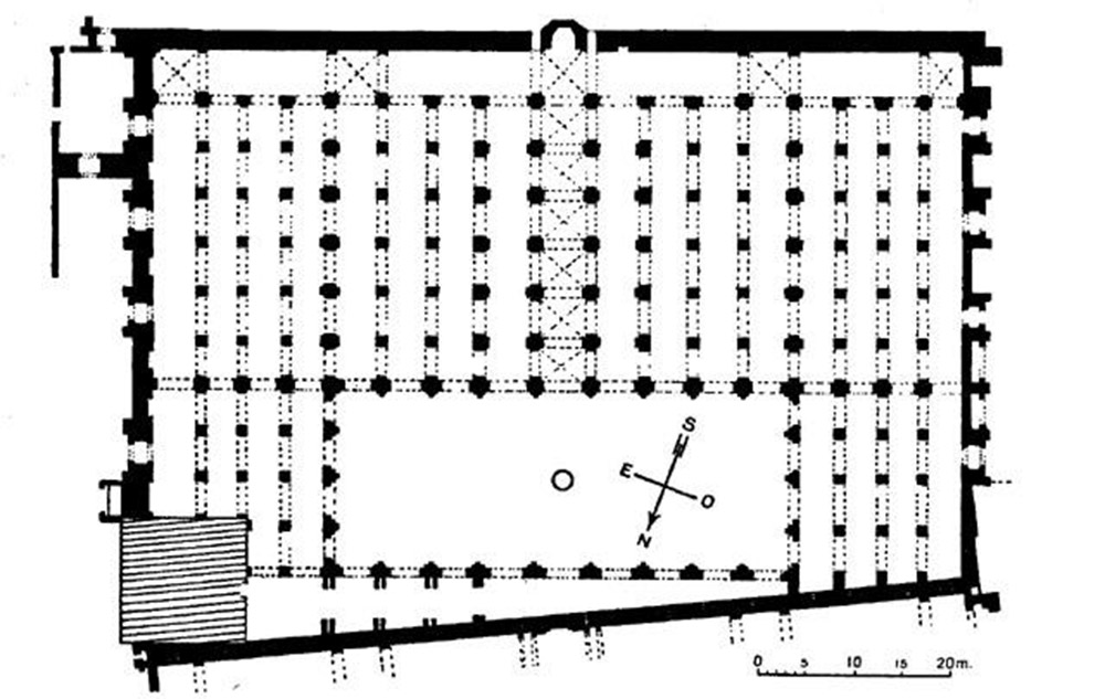 Ground Plan Koutoubia Mosque