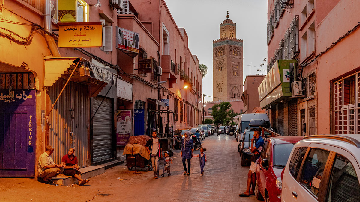 The Koutoubia Mosque in Marrakech