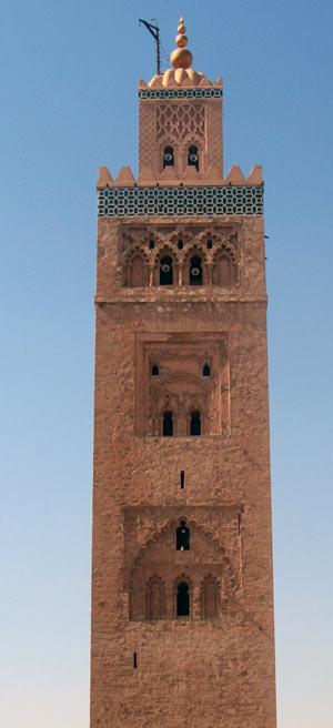 Koutoubia Mosque Minaret
