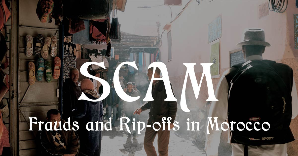 Scams and romance fraud in Morocco and Marrakech