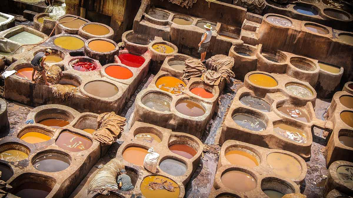 Tannery Scam in Marrakech