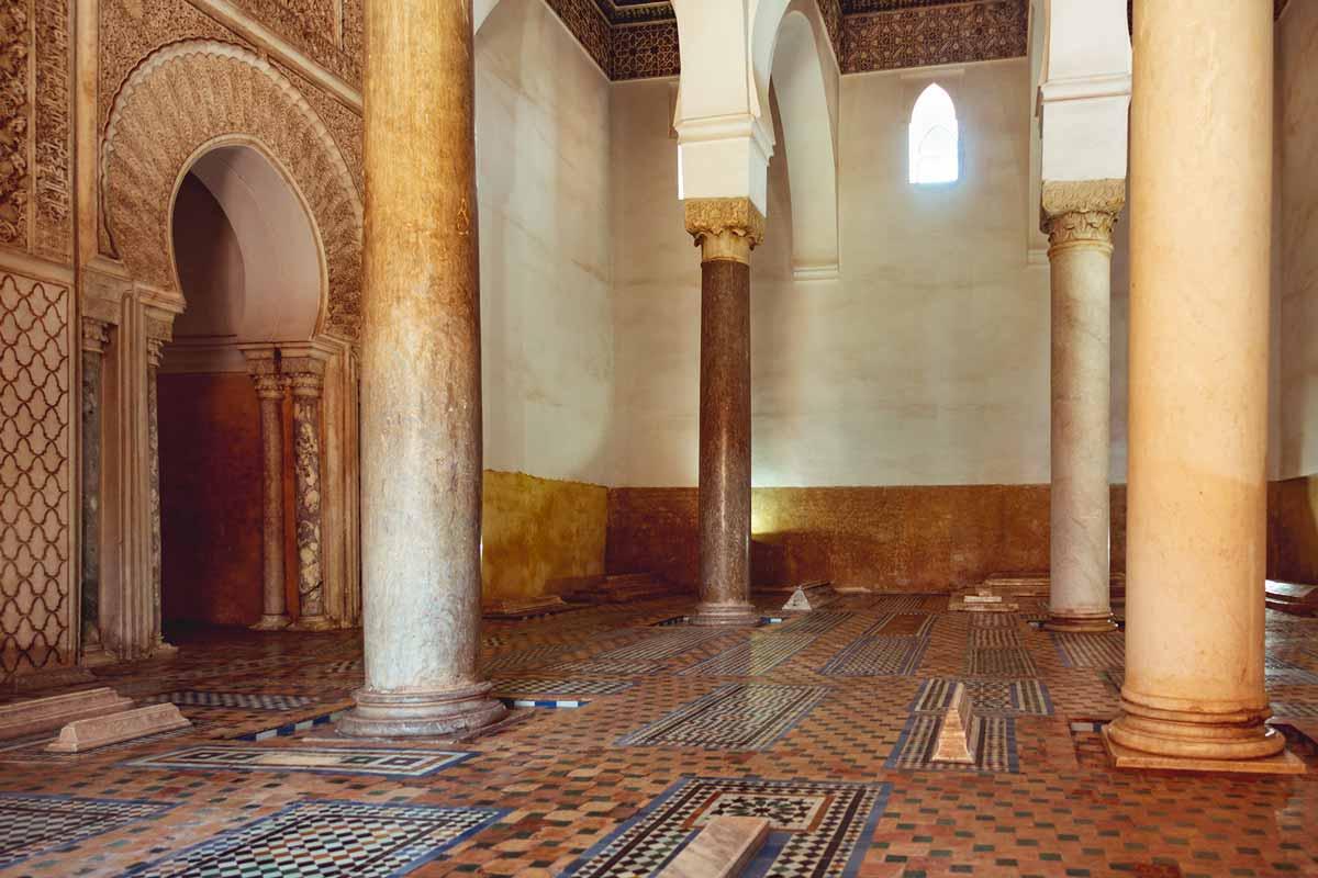 Saadian Tombs: Mihrab Room
