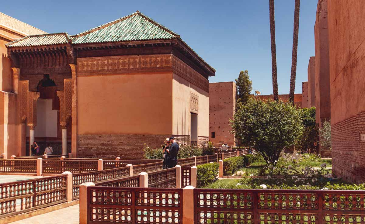 Saadian Tombs Marrakech: the small mausoleum