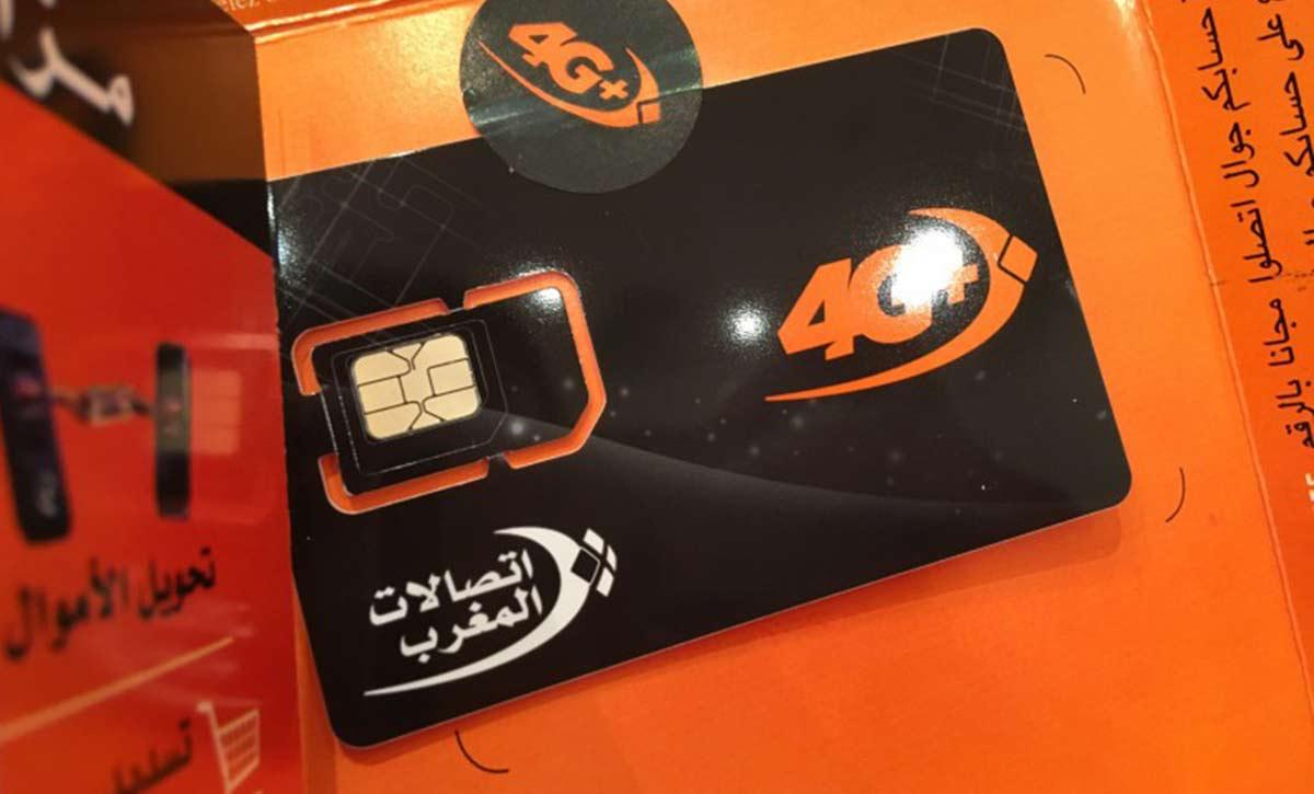 SIM card in Morocco