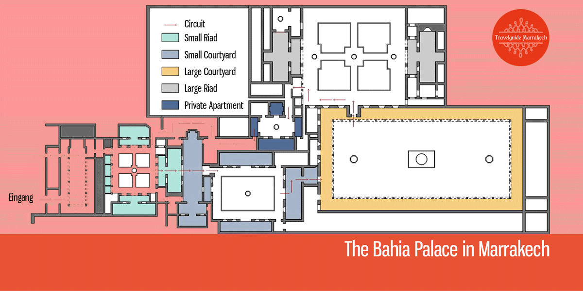 Floor Plan Bahia Palace