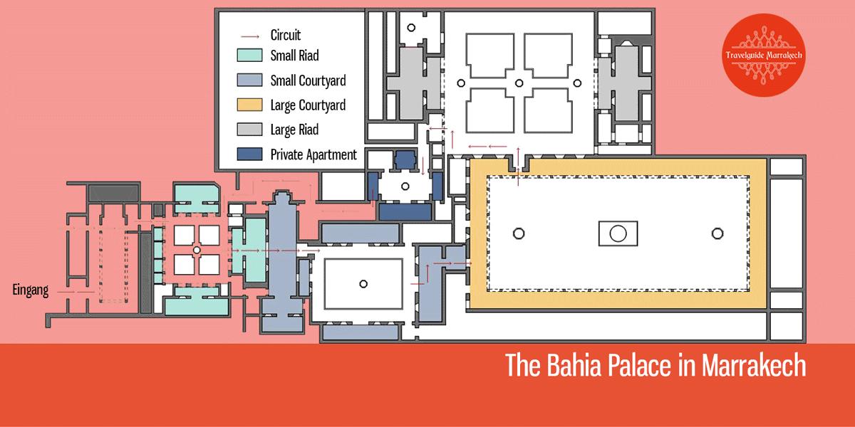 Floor Plan Bahia Palace