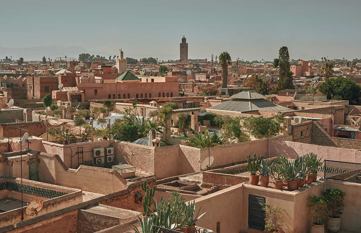 Marrakech holiday panorama