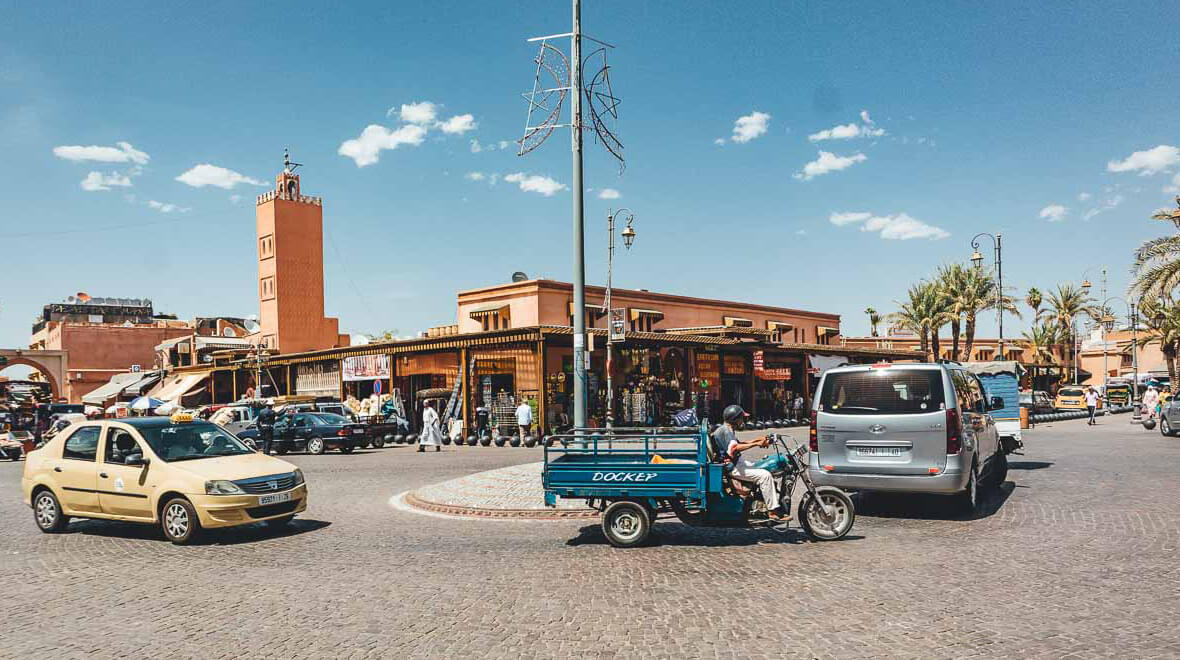Cars in Marrakech