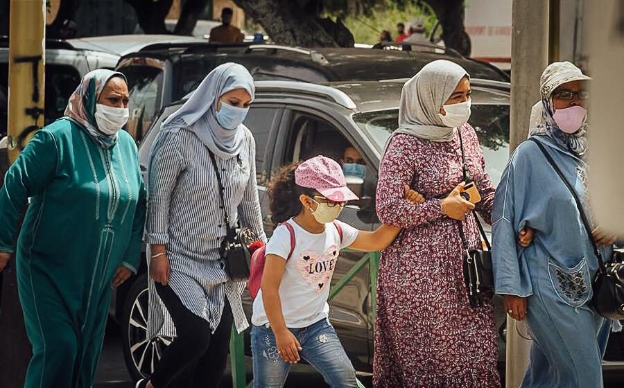 Wearing masks is mandatory in Morocco