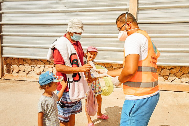 NGOs in Morocco help to fight Covid-19